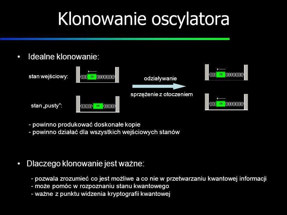 Klonowanie oscylatora