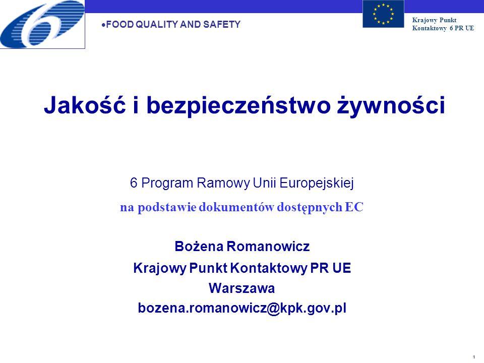 na podstawie dokumentów dostępnych EC Krajowy Punkt Kontaktowy PR UE
