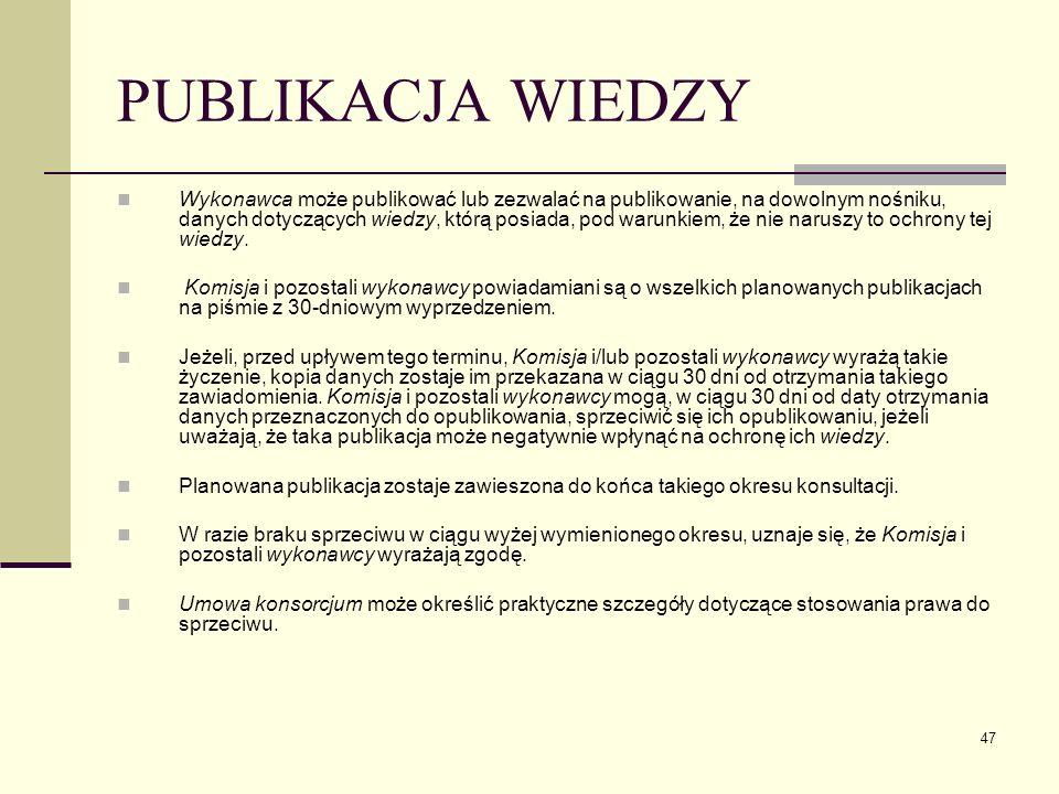 PUBLIKACJA WIEDZY