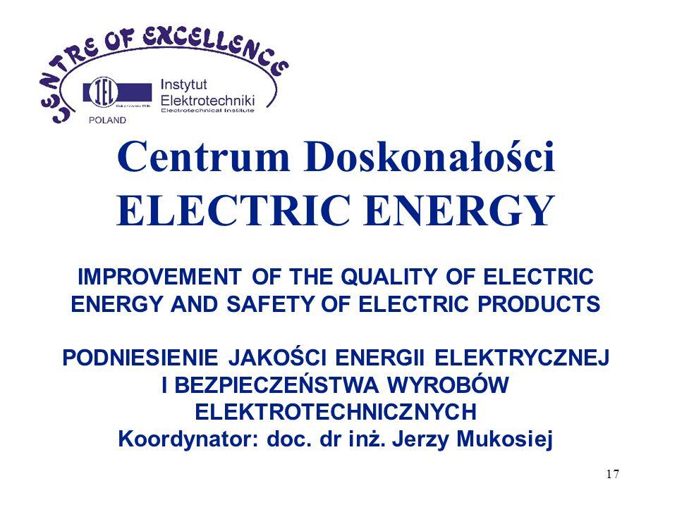Centrum Doskonałości ELECTRIC ENERGY