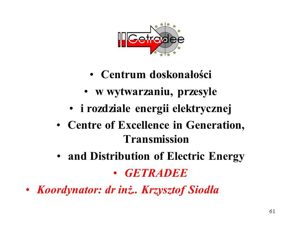 w wytwarzaniu, przesyle i rozdziale energii elektrycznej