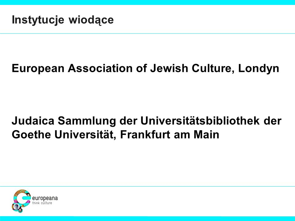 European Association of Jewish Culture, Londyn