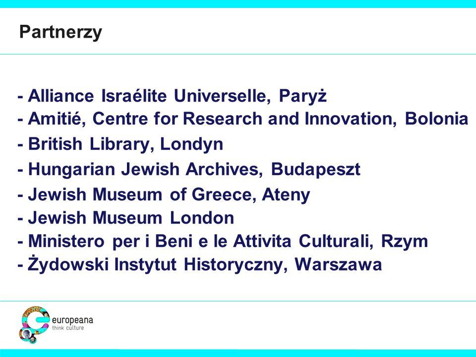 Partnerzy - Alliance Israélite Universelle, Paryż