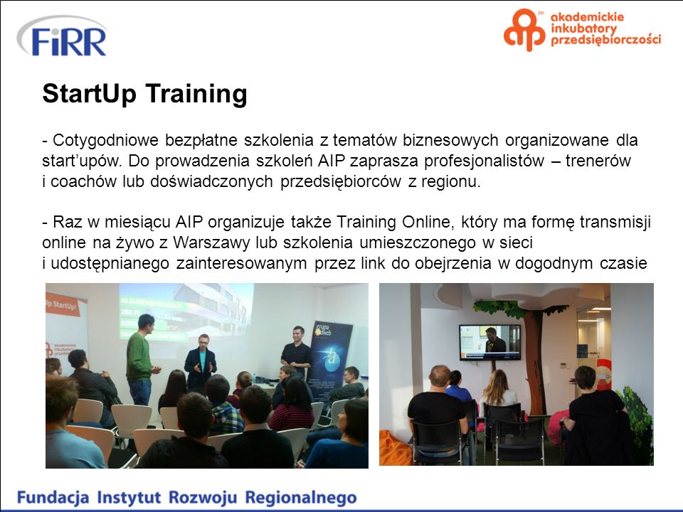 StartUp Training