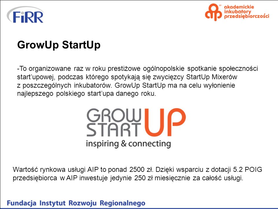 GrowUp StartUp