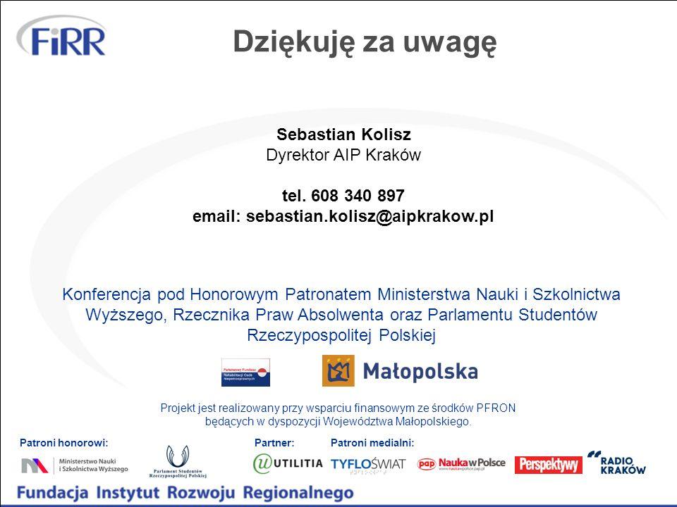 email: sebastian.kolisz@aipkrakow.pl