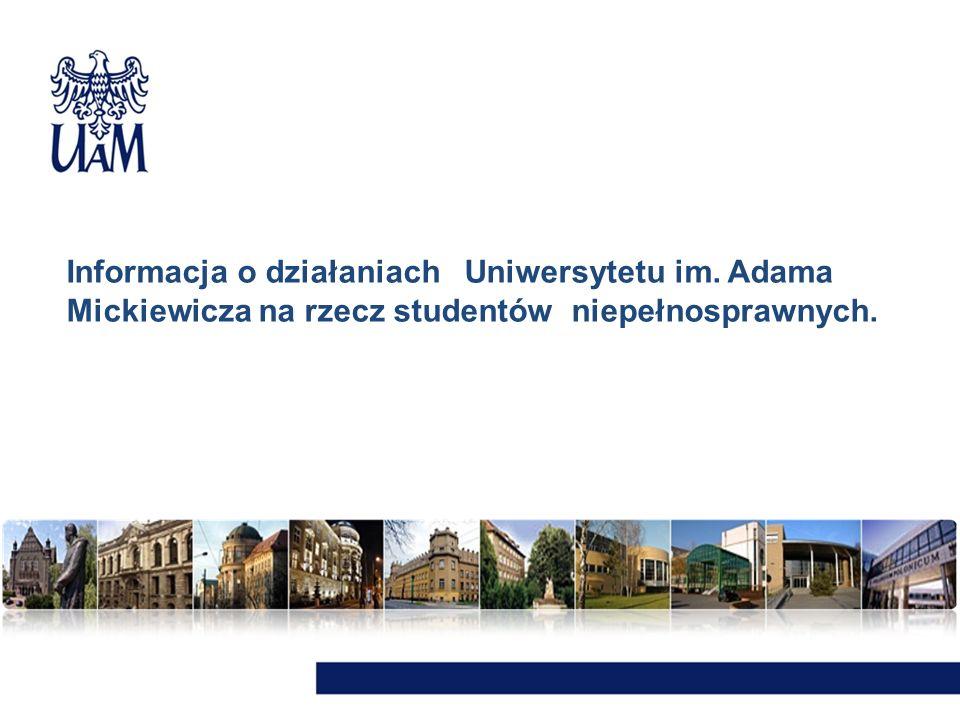 Informacja o działaniach Uniwersytetu im