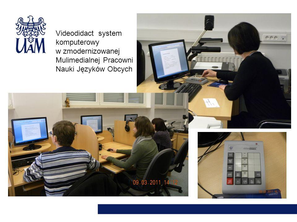 Videodidact system komputerowy