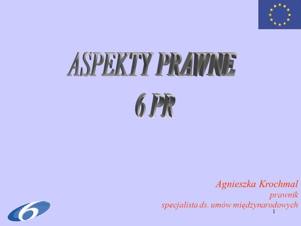 ASPEKTY PRAWNE 6 PR Agnieszka Krochmal prawnik