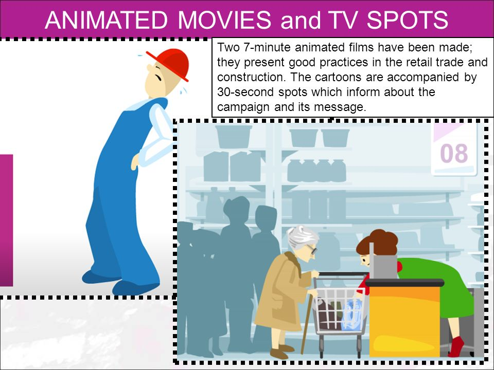 ANIMATED MOVIES and TV SPOTS