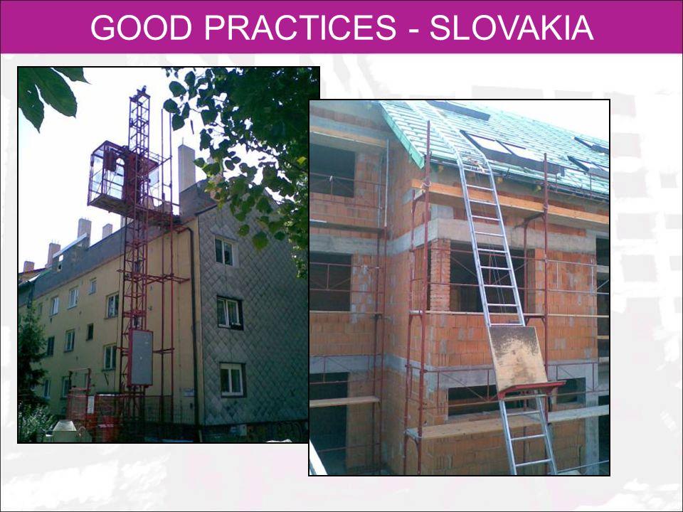 GOOD PRACTICES - SLOVAKIA