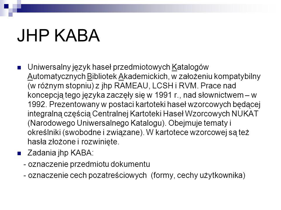 JHP KABA