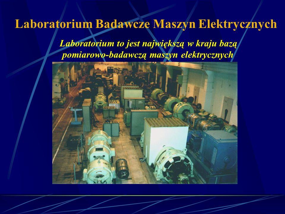 Laboratorium Badawcze Maszyn Elektrycznych