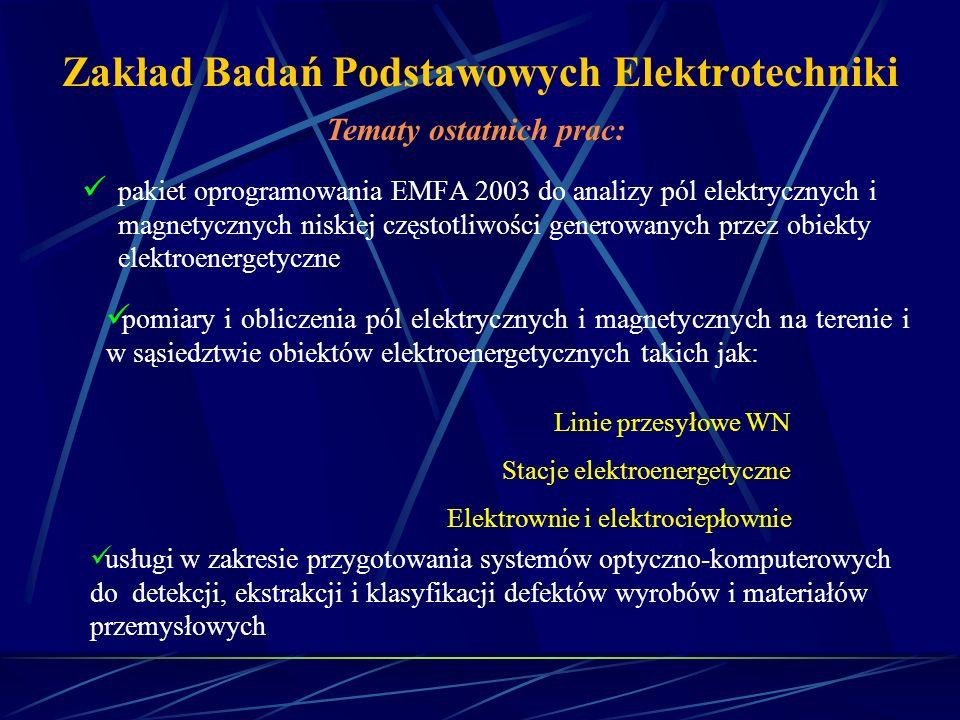 Zakład Badań Podstawowych Elektrotechniki