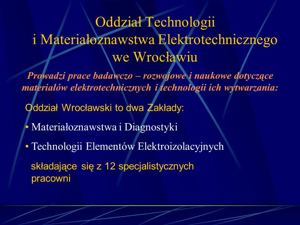 Oddział Technologii i Materiałoznawstwa Elektrotechnicznego we Wrocławiu