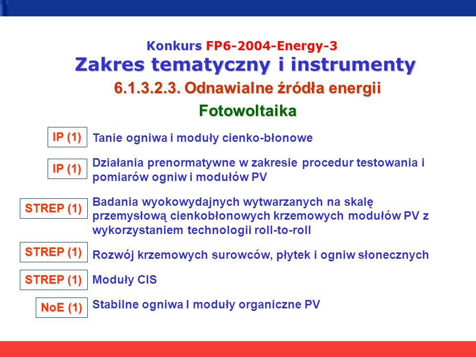 6.1.3.2.3. Odnawialne źródła energii Fotowoltaika