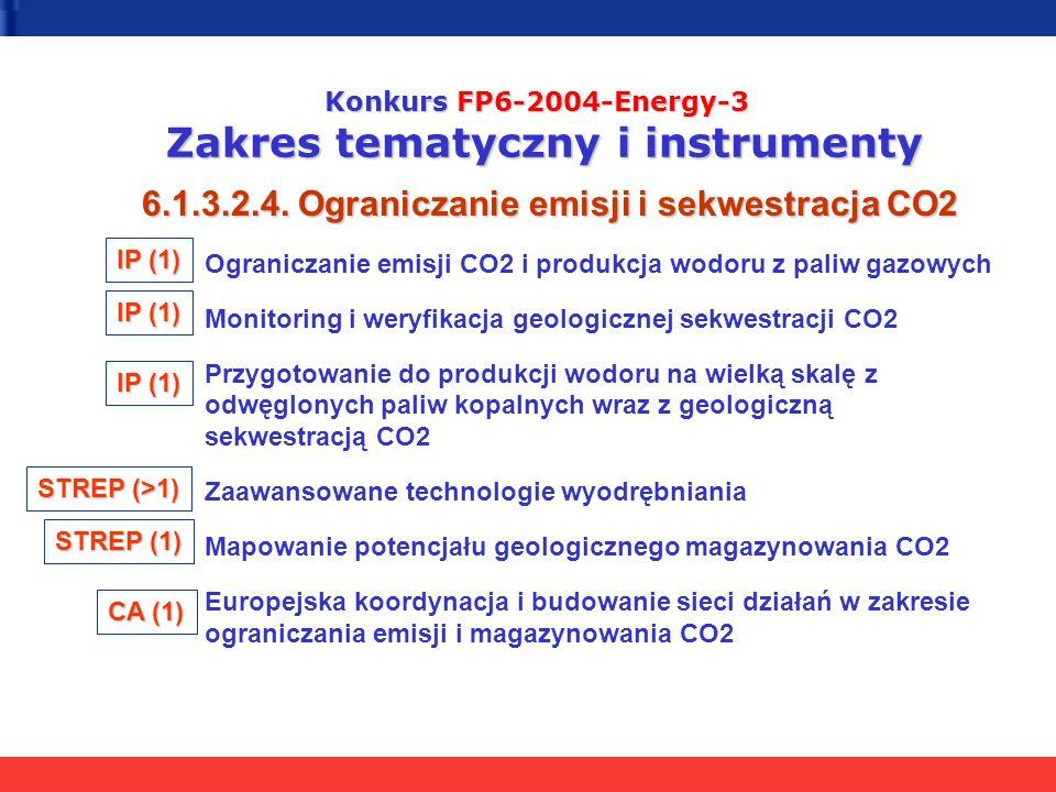 6.1.3.2.4. Ograniczanie emisji i sekwestracja CO2