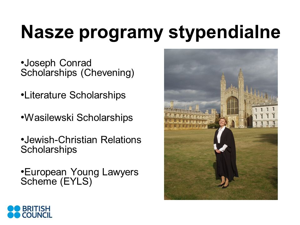 Nasze programy stypendialne