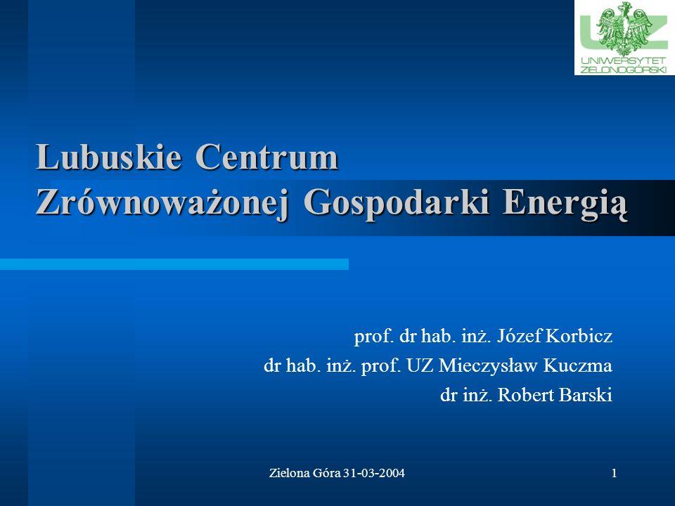 Lubuskie Centrum Zrównoważonej Gospodarki Energią