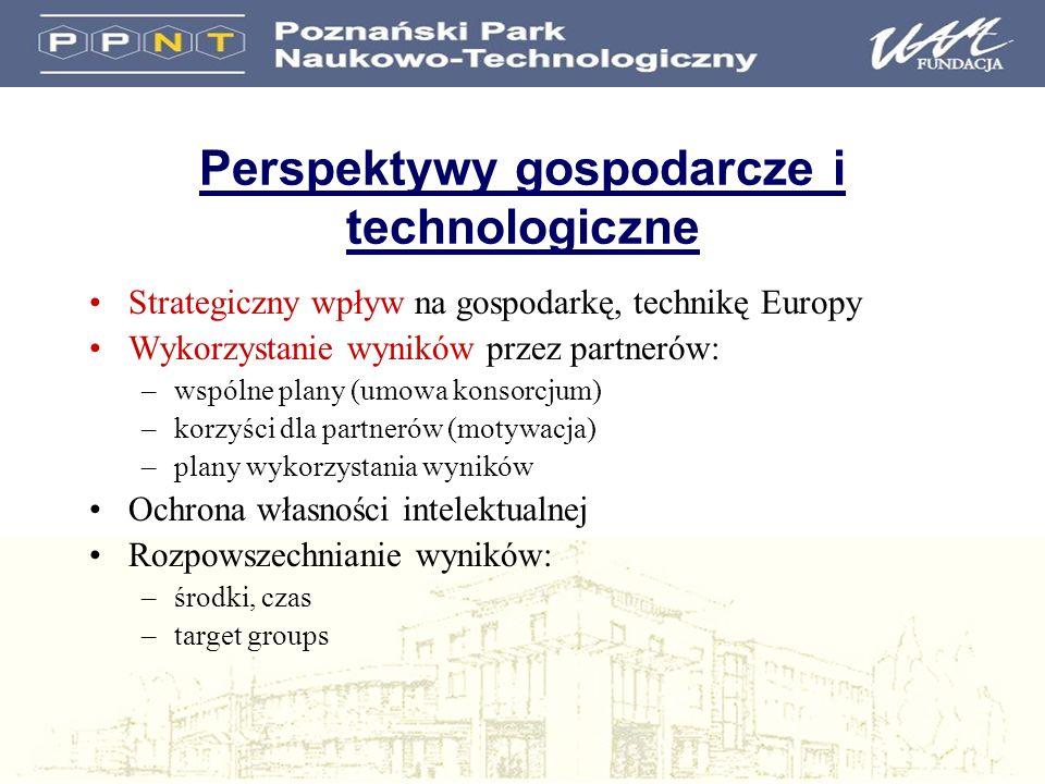 Perspektywy gospodarcze i technologiczne