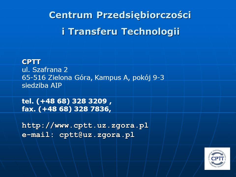 Centrum Przedsiębiorczości i Transferu Technologii