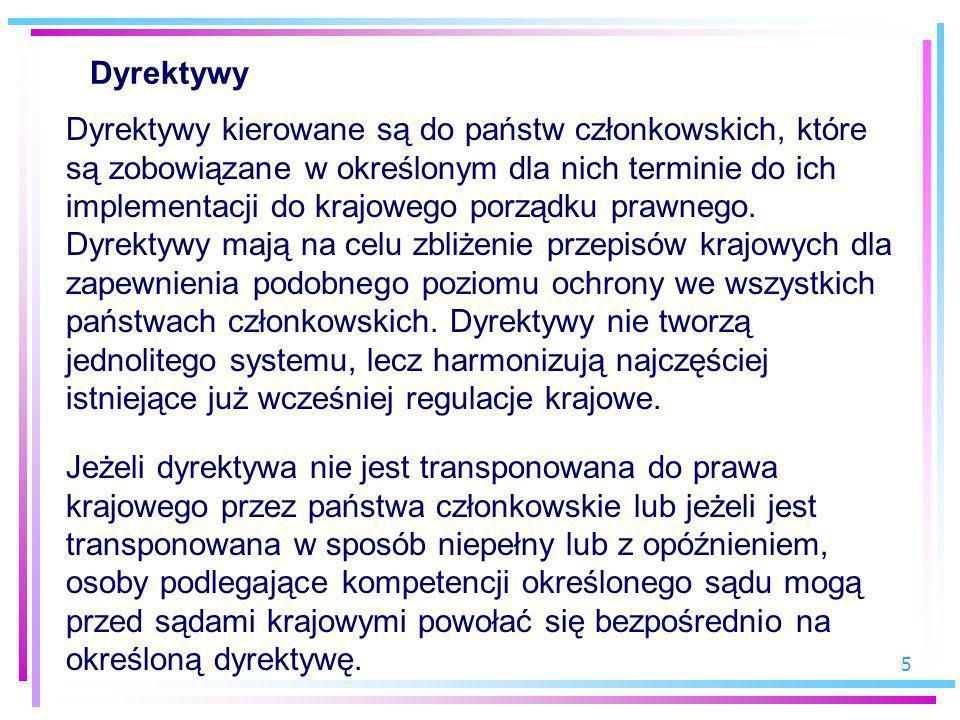 Dyrektywy