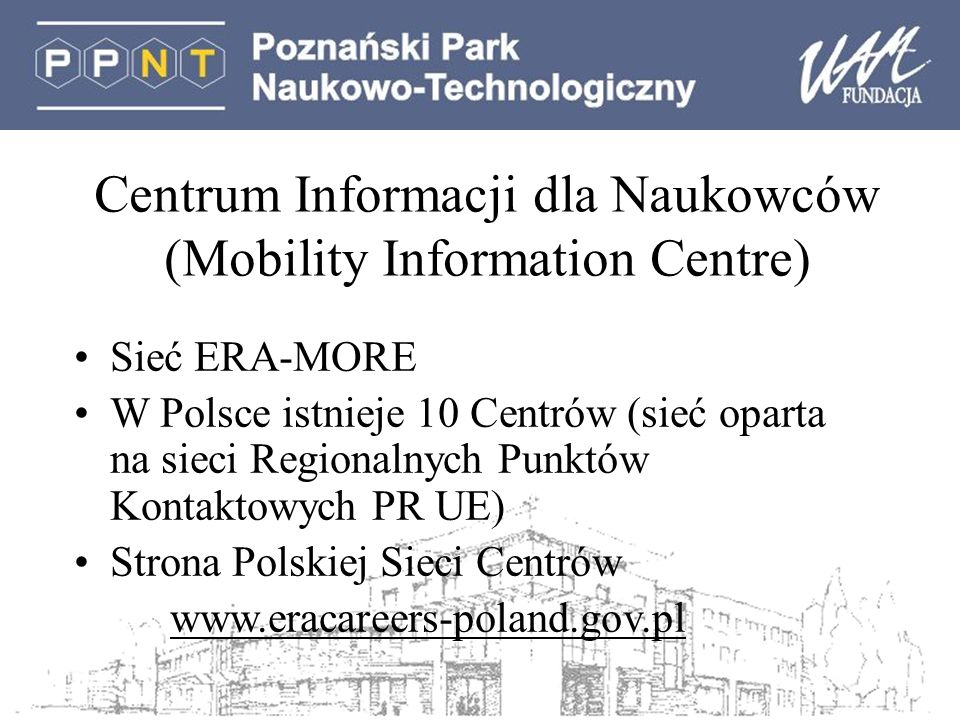 Centrum Informacji dla Naukowców (Mobility Information Centre)