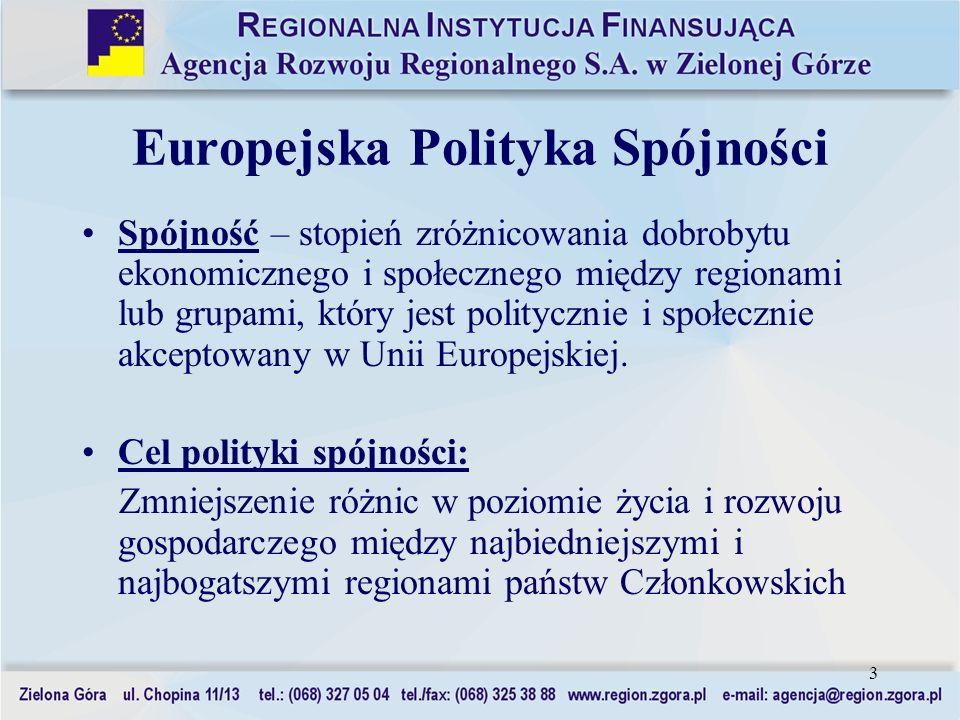 Europejska Polityka Spójności