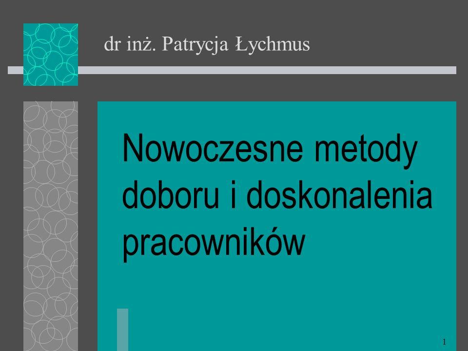 dr inż. Patrycja Łychmus