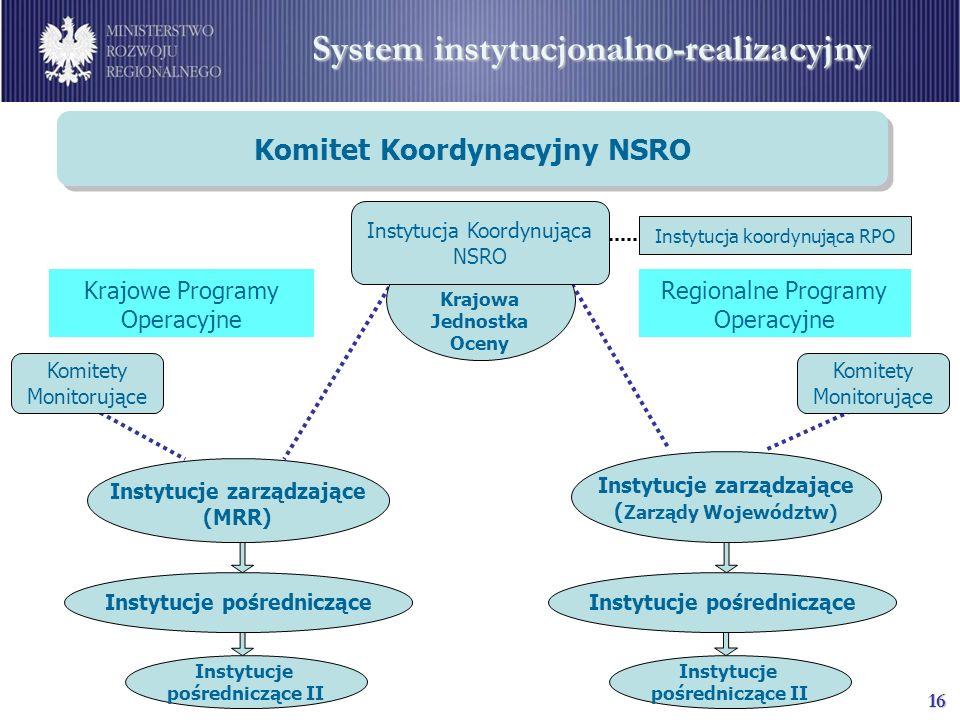 System instytucjonalno-realizacyjny