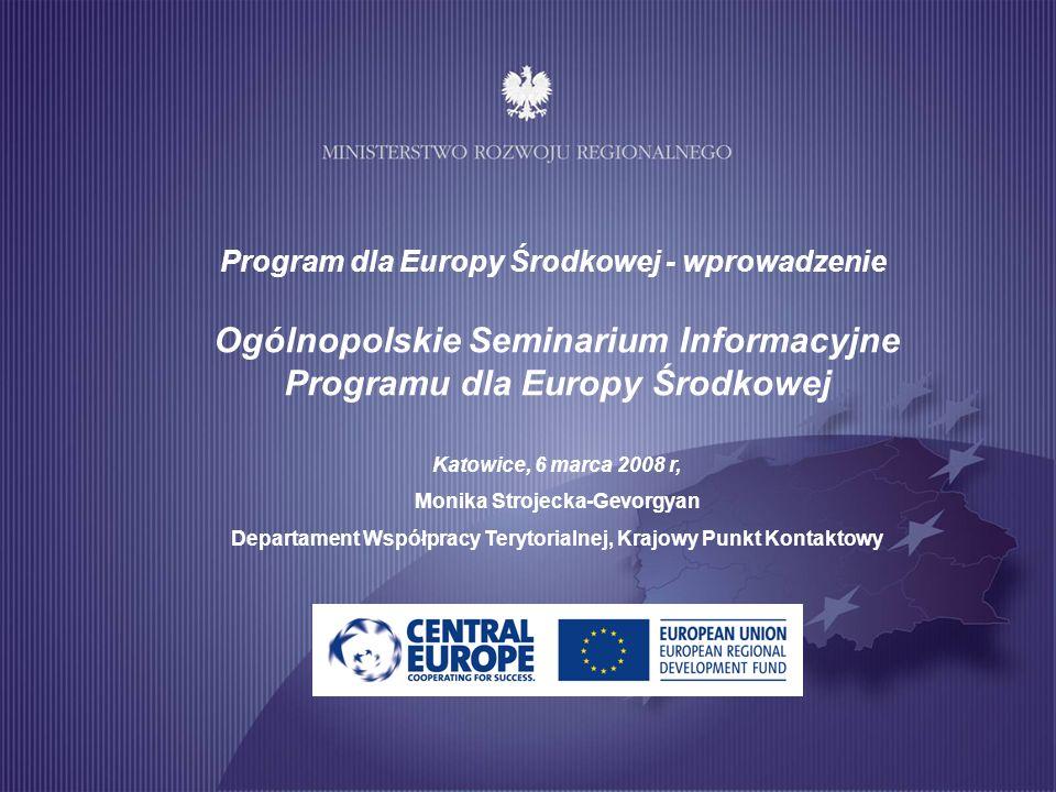 Ogólnopolskie Seminarium Informacyjne Programu dla Europy Środkowej