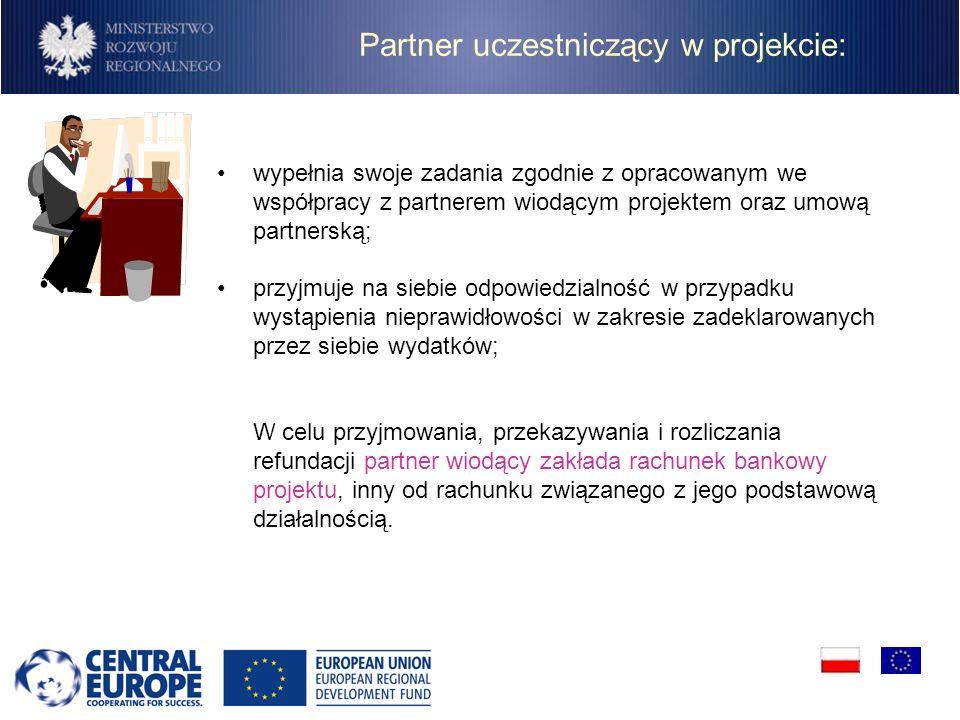 Partner uczestniczący w projekcie: