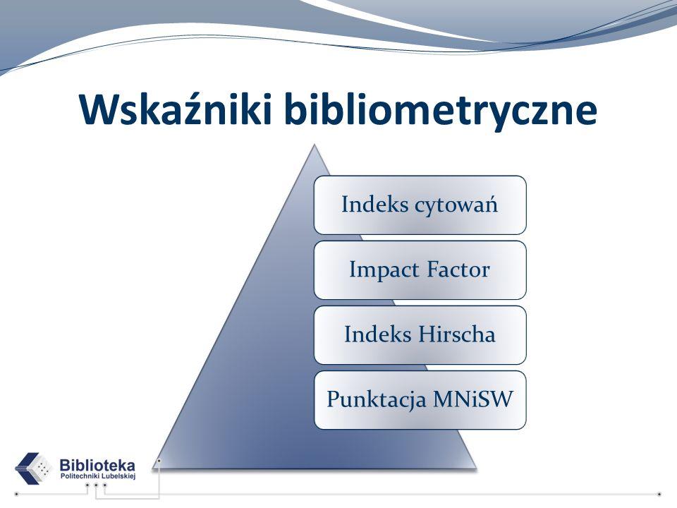 Wskaźniki bibliometryczne