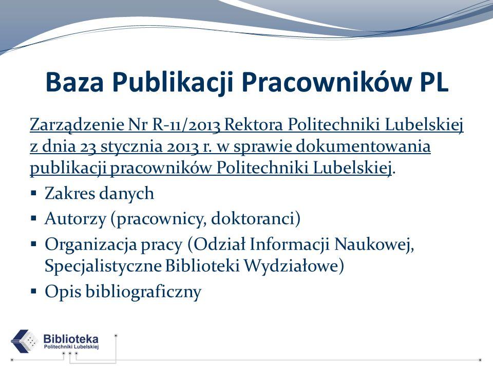 Baza Publikacji Pracowników PL
