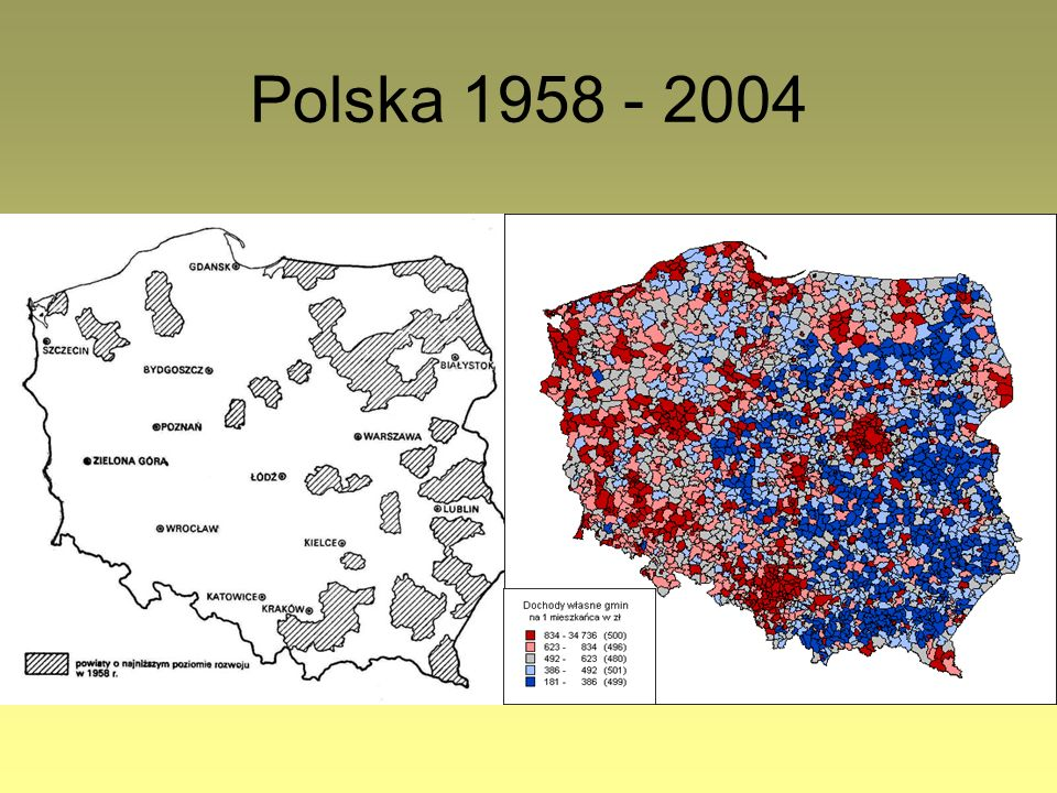 Polska 1958 - 2004