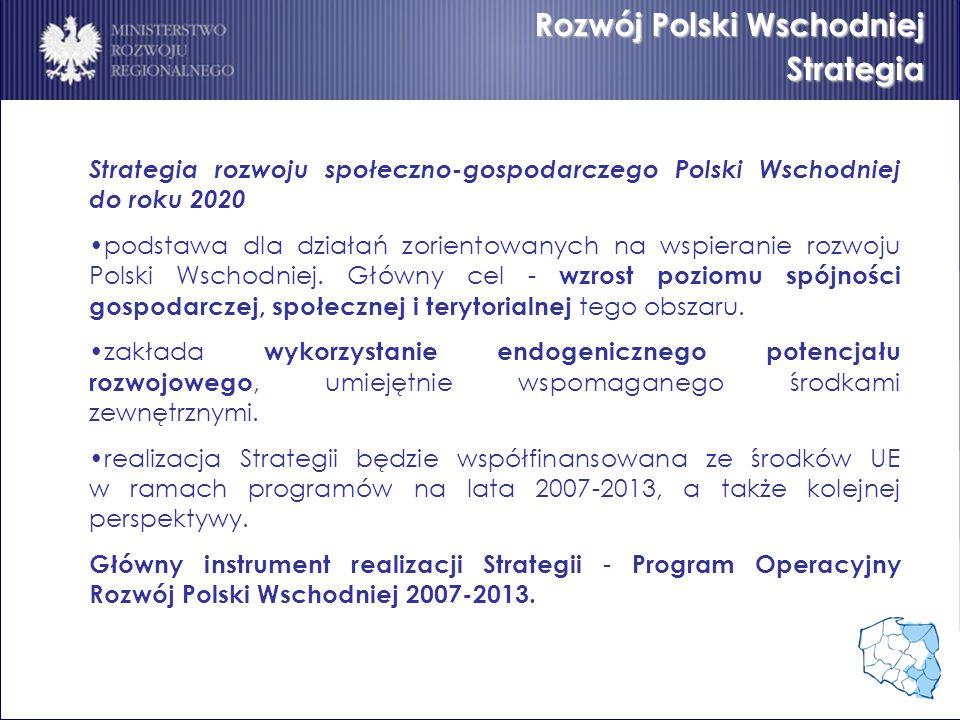 Rozwój Polski Wschodniej Strategia