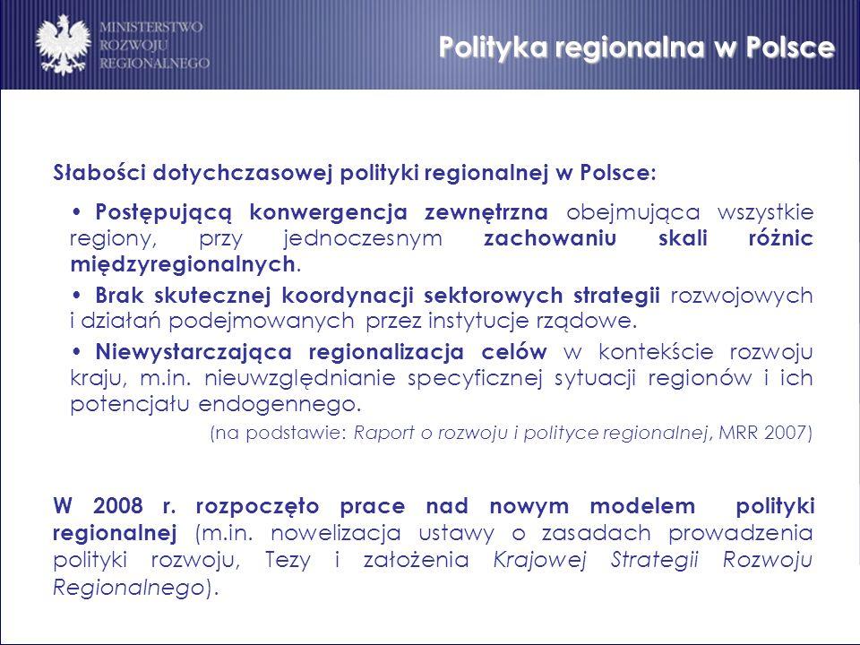 Polityka regionalna w Polsce