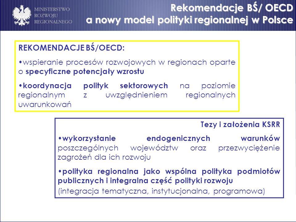a nowy model polityki regionalnej w Polsce