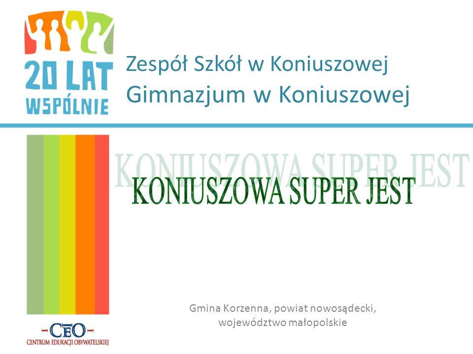Zespół Szkół w Koniuszowej Gimnazjum w Koniuszowej