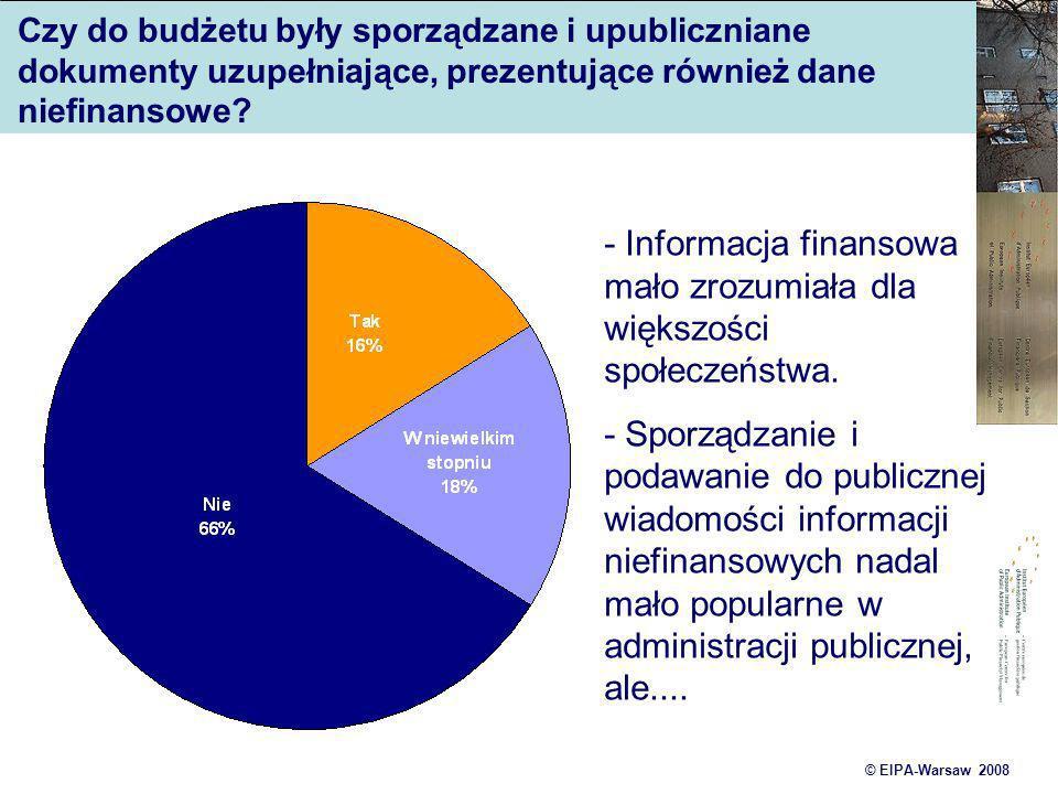 - Informacja finansowa mało zrozumiała dla większości społeczeństwa.