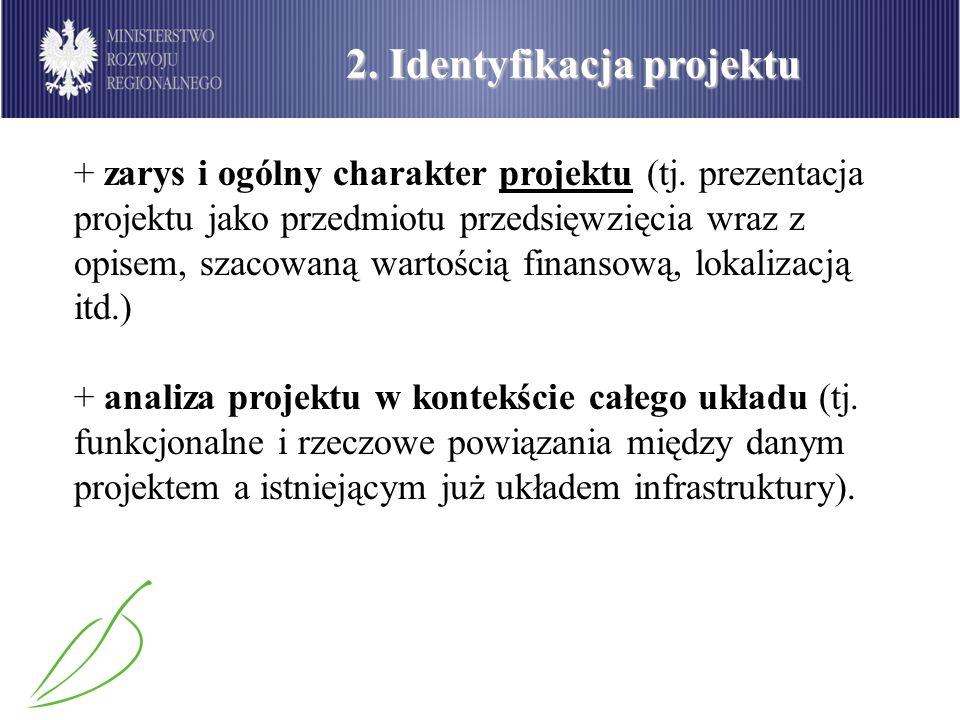 2. Identyfikacja projektu