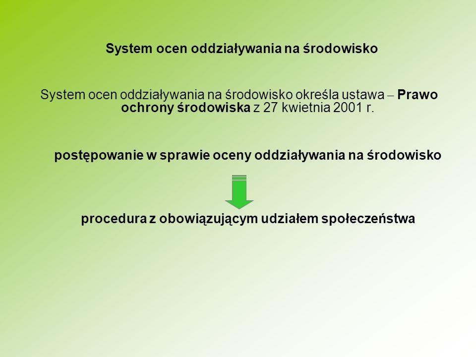 System ocen oddziaływania na środowisko