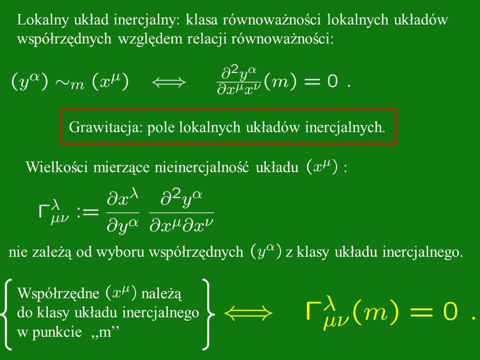 Lokalny układ inercjalny: klasa równoważności lokalnych układów