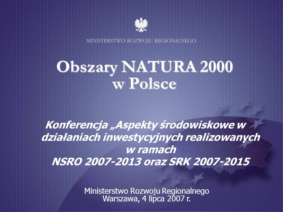 Obszary NATURA 2000 w Polsce