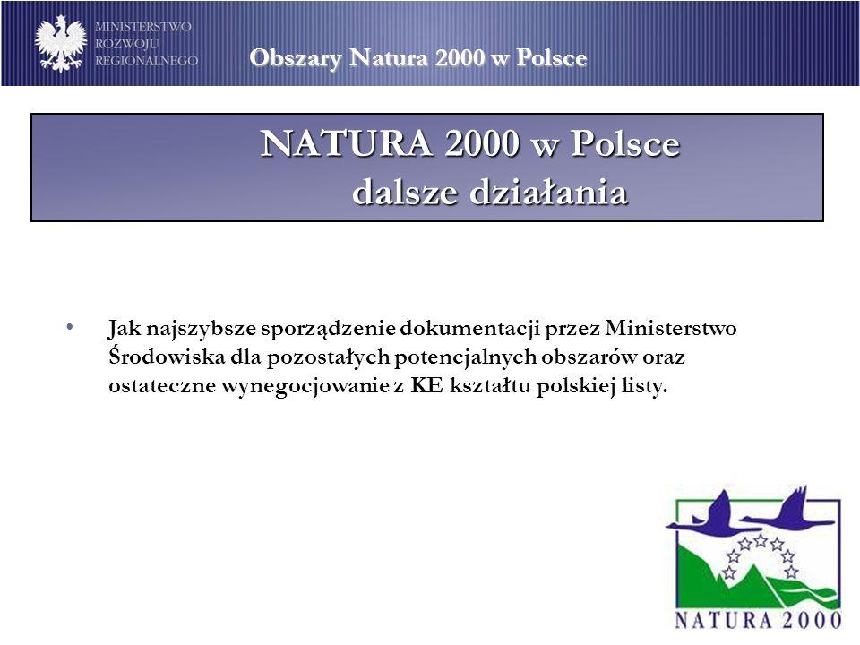 NATURA 2000 w Polsce dalsze działania