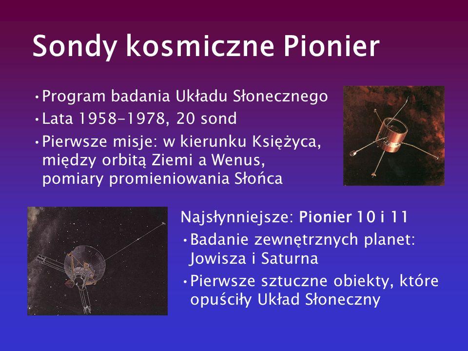 Sondy kosmiczne Pionier