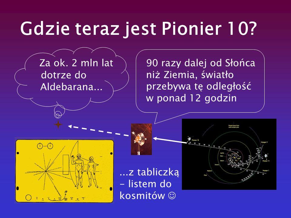 Gdzie teraz jest Pionier 10