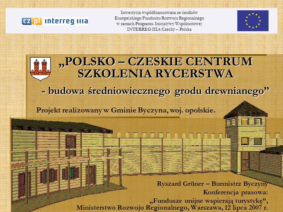 Projekt realizowany w Gminie Byczyna, woj. opolskie.