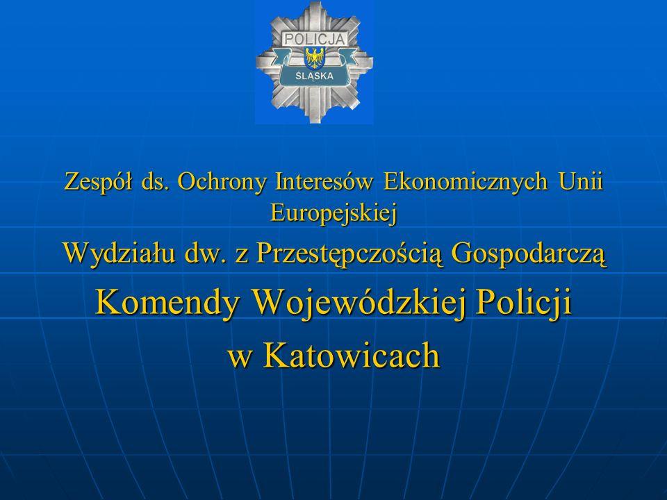Komendy Wojewódzkiej Policji w Katowicach
