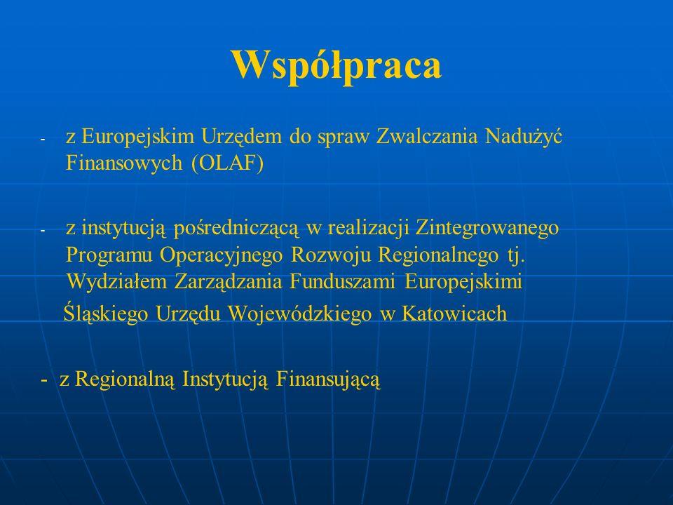 Współpraca z Europejskim Urzędem do spraw Zwalczania Nadużyć Finansowych (OLAF)